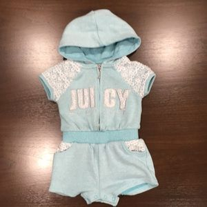 Juicy Couture Romper 18 months
